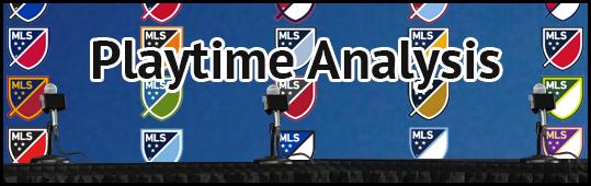 Playtime Analysis - 2016 Round 8
